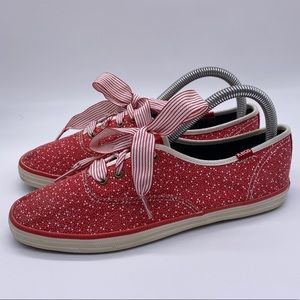 Keds Taylor Swift Champion Seltzer Red Sneakers